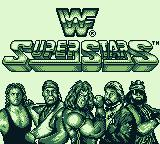 WWF Superstars Game Boy Title screen