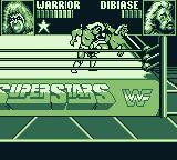 WWF Superstars Game Boy Headbutt