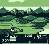Crash 'N the Boys: Street Challenge Game Boy Ooops, avoid sand bunkers and water
