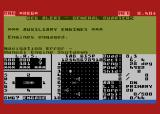 Star Fleet I: The War Begins! Atari 8-bit Navigation error!
