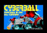 Cyberball Amstrad CPC Loading screen