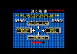 Cyberball Amstrad CPC Select what type of play to do.