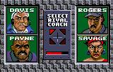 Cyberball Lynx Select your rival coach.