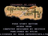 Crusader of Centy Genesis Title screen (US version)