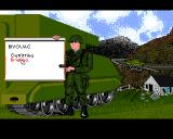 M1 Tank Platoon Amiga One of the more threatening menus I have seen.