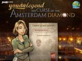 Youda Legend: The Curse of the Amsterdam Diamond Windows Name entry