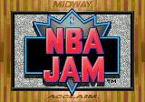 NBA Jam Genesis Title screen