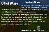 StickWars iPhone Instructions
