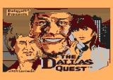 The Dallas Quest Atari 8-bit Title Screen