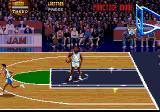 NBA Jam Tournament Edition Genesis Practice mode (no opponent players)