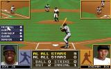 Tony La Russa Baseball II DOS All bases are full.