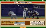 Tony La Russa Baseball II DOS Playing standard game.