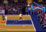 NBA Jam Tournament Edition Genesis The shot is blocked