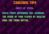 NBA Jam Tournament Edition Genesis Coaching tips, coming between quarters