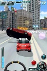 Asphalt 4: Elite Racing iPhone Big accident