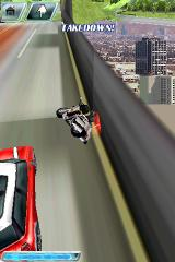 Asphalt 4: Elite Racing iPhone That was a police motorcycle before I took it down