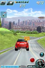 Asphalt 4: Elite Racing iPhone Lovely view of Los Angeles