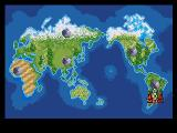 Earth Defense Genesis The game map
