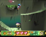 Klonoa: Door to Phantomile PlayStation When in the air, jump again and you'll throw the enemy you're holding