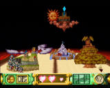Klonoa: Door to Phantomile PlayStation Completing a level shows you the world map