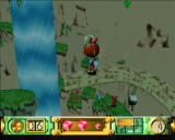 Klonoa: Door to Phantomile PlayStation It starts to rain as you reach the waterfall