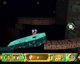 Klonoa: Door to Phantomile PlayStation Hit the pillar with an enemy to make it fall