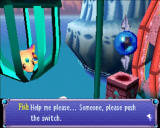 Klonoa: Door to Phantomile PlayStation This fish is trapped in a cage