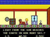 "Alex Kidd: High-Tech World SEGA Master System Alex thinks: ""How am I supposed to know that?"""