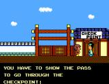 "Alex Kidd: High-Tech World SEGA Master System ""Where am I supposed to get a travel pass?"""