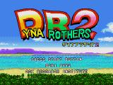 Dyna Brothers 2 Genesis Title screen