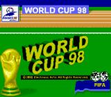 World Cup 98 Game Boy Title screen (Super Game Boy)