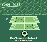 World Cup 98 Game Boy You won the coin flip. Which side will you pick.