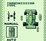 Ferrari Grand Prix Challenge Game Boy Manual transmission or automatic?