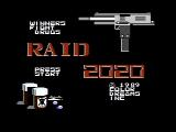 Raid 2020 NES Title screen
