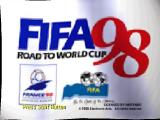 FIFA 98: Road to World Cup Nintendo 64 Title screen