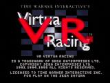 Time Warner Interactive's VR Virtua Racing SEGA Saturn Title Screen