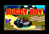 Speed Buggy Amstrad CPC Title screen