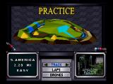 Time Warner Interactive's VR Virtua Racing SEGA Saturn Track Selection