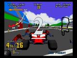 Time Warner Interactive's VR Virtua Racing SEGA Saturn Yes, you can make a pit stop.  Yes, it's still completely worthless.
