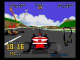 Time Warner Interactive's VR Virtua Racing SEGA Saturn Arcade Mode