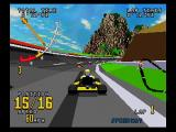 Time Warner Interactive's VR Virtua Racing SEGA Saturn Go Kart Racing
