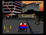 Time Warner Interactive's VR Virtua Racing SEGA Saturn The Metropolis track is pretty cool.