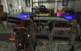 Ghostbusters: The Video Game Windows Ecto-1 ready to go.