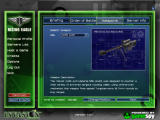 Rising Eagle: Futuristic Infantry Warfare Windows Sniper weapons selection screen