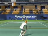 Virtua Tennis 2009 Windows My girl likes to play near the net.