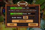 Stoneloops! of Jurassica iPhone Options screen