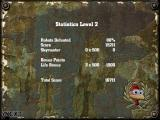 Crazy Chicken: Approaching Windows Statistics screen for each level you finish.