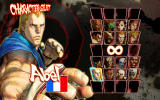 Street Fighter IV Windows Character selection
