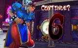 Street Fighter IV Windows You have to decide in 10 seconds if want to continue.