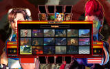 Street Fighter IV Windows Level selection.